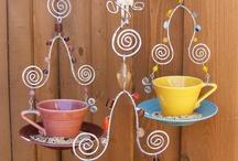 Birdie feeding / Cool birdie feeders and bird houses