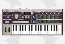 All-Star Keyboards / We understand that finding the exact keyboard for your needs can be a bit daunting. That's why we've assembled an all-star list of our customers' favorite keyboards and synthesizers -- a list full of proven models that have worked in any number of settings.
