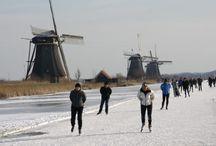 Molentocht Alblasserwaard 2012 / Op 9 februari 2012 werd in de Alblasserwaard op natuurijs de Molentocht geschaatst