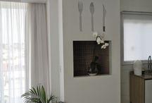 Meus Talheres de Espelhos na Cozinha!!! / Veja + Inspirações e Dicas de decoração no blog!  www.construindominhacasaclean.com
