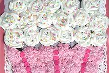 Birthday - cupcake cakes