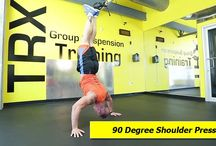 TRX Shoulder Exercises / The best exercises and workouts that you can do on your TRX and suspension trainers. #TRX-Shoulder-Workouts #TRX-Shoulder-Exercises