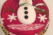 My Christmas Cakes