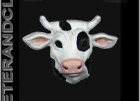 Masque Venise-Animaux-Papier mâché