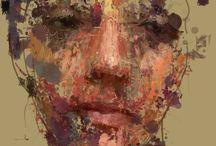 Абстрактные портреты