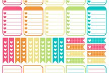 Free Planner Sticker Printables!! / Only Planning Junkies Will Understand!! LOL