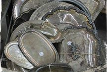 Tarnished Silver / #silver,#tarnishedsilver,#antiques