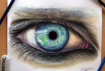 Y10 Portraits - eyes