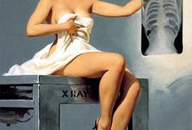 Classic pinups / Not my comments, they belong to original Pinners