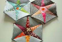 Hand pieced quilts