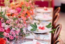 WEDDINGS + Tablescapes / Table setting ideas for your wedding reception