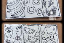 Art & Doodles - Food/Drink