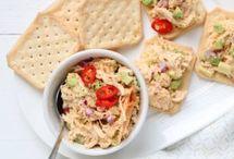 gezonde salades voor brood of toast
