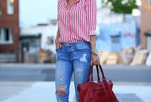 How to Style Denim / nothing like a great pair of jeans! This board is all about the best denim styles and how to wear denim in fresh ways. / by Nicole Feliciano