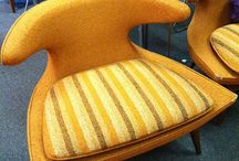 CHAIRS WITH VINTAGE FLAIR