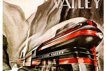 Train / tutti i treni e trasporti su rotaie. ..dagli albori.... al futuro