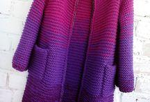 Kabáty, svetre a kabátosvetre