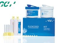 GC #FLEXCEED / With High Initial Hydrophilicity & Viscosity GC FLEXCEED gets pushed into the sub-gingival area to register details. The flow of FLEXCEED Putty-Wash is better than any other brands.