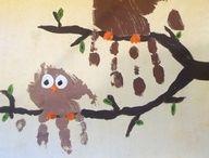 Idées Activitées Peinture enfants mains / pieds