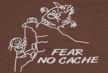 Look like a Geocacher / Apparel for geocaching, show the world that you're a geocacher and proud of it!  / by Landsharkz
