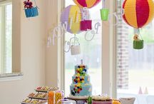 Growing Up, Up, Up! / Hot air balloon birthday celebration  #hotairballoon #birthday #party  / by Nicole Person