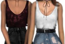 The Sims clothing & stuff