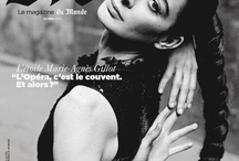 M Le Magazine du Monde May 25th, 2013 / Marie-Agnés Gillot by Mario Sorrenti / by Adriana Feregrino