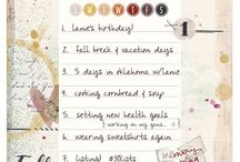 2016 September 30 Days Of Lists