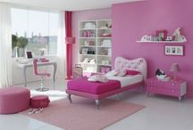 Girls bedroom / by Gail Holcomb