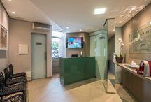 Office / Projetos de office executados por profissionais parceiros com produtos da Bel Lar Acabamentos.