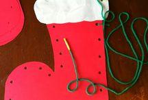 Fijne motoriek oefening voor kerst