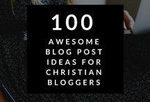 Christian Blogging- Resources
