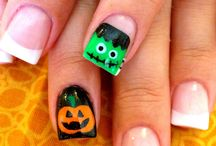 Cute Halloween nail art / My favourite Halloween nailart from around the interwebz!
