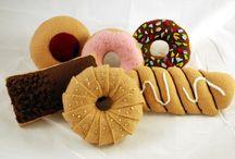 felt foods - donuts