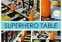 PARTY: SUPERHEROES