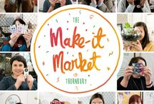 The Make It Market / Melbourne's newest boutique indoor market Instagram @the_makeitmarket