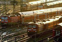 JERNBANER / Jernbanefotos og artikler om jernbane-temaer
