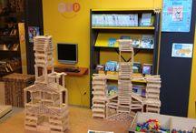 Jeugdbibliotheek / De architecten van de toekomst zijn weer creatief bezig geweest.
