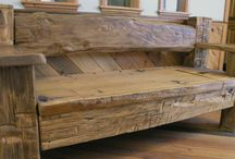 Reclaimed/ Recycled Furniture Ideas / Reclaimed Furniture Made From Timber, Recycling At Its Best. Some Beautiful Ideas.