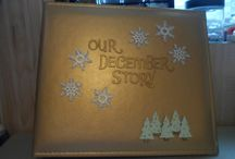 Our December Story 2015-2017 / December Daily via 12X12 Album, Christmas Scrapbooking, Memory Keeping.