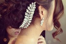 Bridal Hair / Hair Design + Hair Styles + Bridal + Updo's