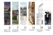 Architectural portfolio..