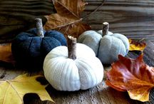 Pumpkins out of old sweaters
