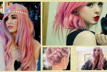 Festett hajak / Gyönyörű festett hajakról szól!