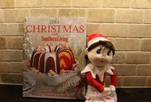 Elf on the Shelf / Follow our Elf on the Shelf as she takes you on a tour of the Fall Southern Living Custom Builder Program Showcase Home and enter to win a Southern Living Holiday Cookbook and your very own Elf on the Shelf!