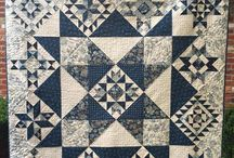 Blue and White Sampler Quilts