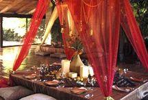 India - decor, food, etc.