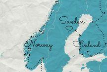 Norway, Sweden & Finland