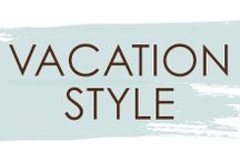 Vacation Style / Are you ready for a #vacation? Check out these looks for #hair, make-up, and #nails that will get you thinking about taking a trip! We can't wait to help you get #styled for your next vacation.