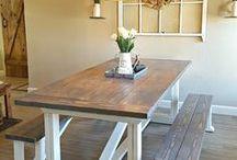 Udendørs bord og bænke
